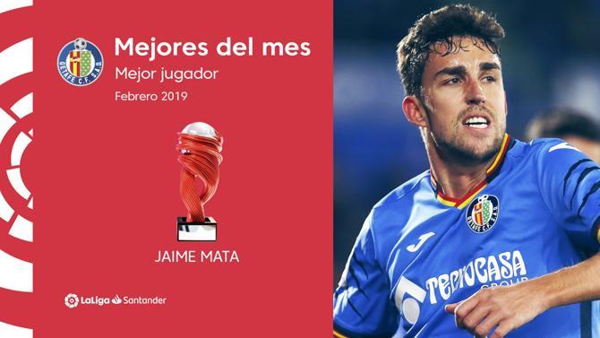MATA ELEGIDO MEJOR JUGADOR DE LA LIGA EN FEBRERO.