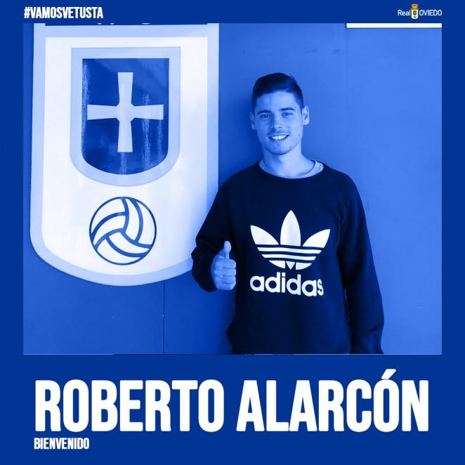 ROBERTO ALARCON FIRMA CON EL OVIEDO-VETUSTA.