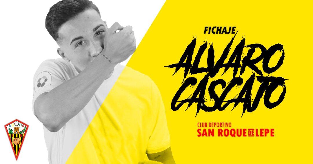 ALVARO CASCAJO FIRMA CON EL SAN ROQUE DE LEPE.